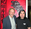Andrew with Chinese film director
