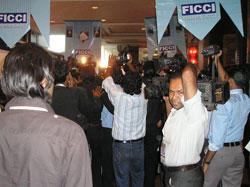Indian media at FICCI frames